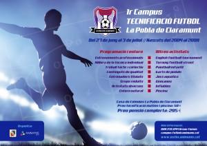 Campus Futbol La Pobla de Claramunt (folletó)